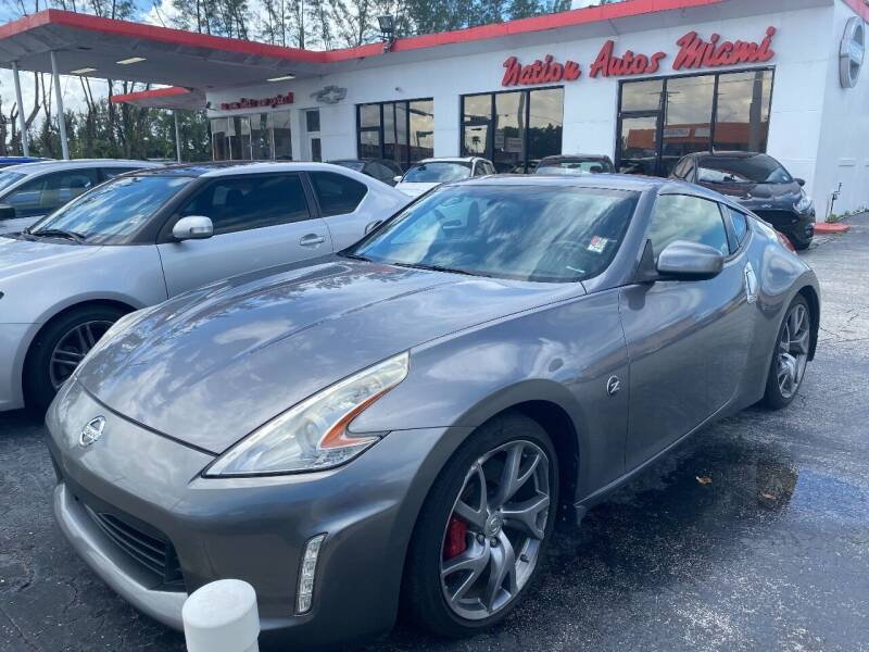 2014 Nissan 370Z for sale at Nation Autos Miami in Hialeah FL