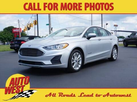 2019 Ford Fusion Hybrid for sale at Autowest of Plainwell in Plainwell MI