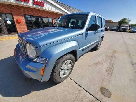 2012 Jeep Liberty for sale at Eden's Auto Sales in Valley Center KS