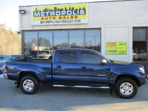 2014 Toyota Tacoma for sale at Metropolis Auto Sales in Pelham NH