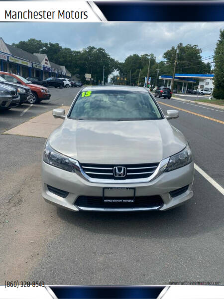 2013 Honda Accord for sale at Manchester Motors in Manchester CT