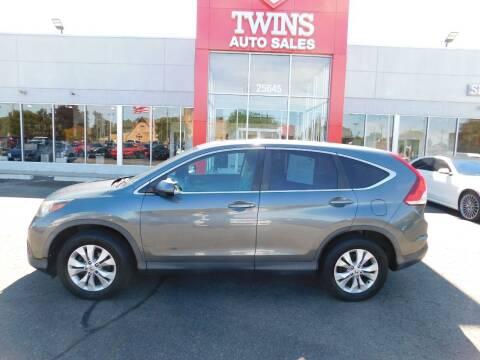 2014 Honda CR-V for sale at Twins Auto Sales Inc Redford 1 in Redford MI