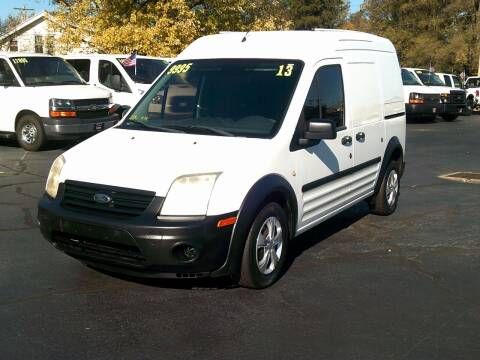 2013 Ford Transit Connect for sale at Stoltz Motors in Troy OH
