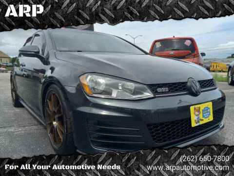 2015 Volkswagen Golf GTI for sale at ARP in Waukesha WI