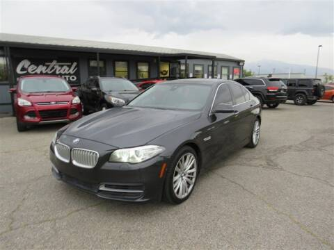 2014 BMW 5 Series for sale at Central Auto in South Salt Lake UT
