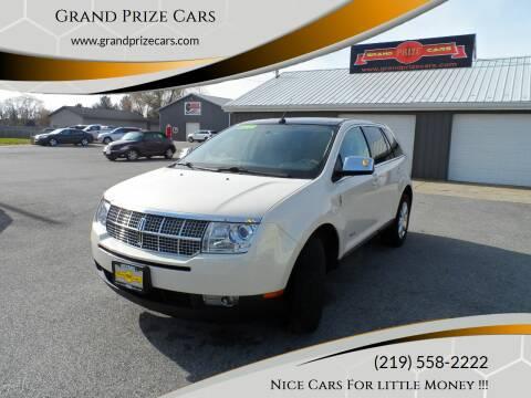 2008 Lincoln MKX for sale at Grand Prize Cars in Cedar Lake IN
