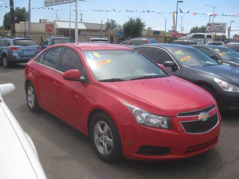 2014 Chevrolet Cruze for sale at Town and Country Motors - 1702 East Van Buren Street in Phoenix AZ