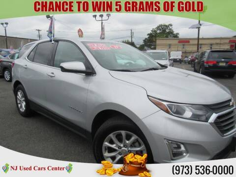 2019 Chevrolet Equinox for sale at New Jersey Used Cars Center in Irvington NJ