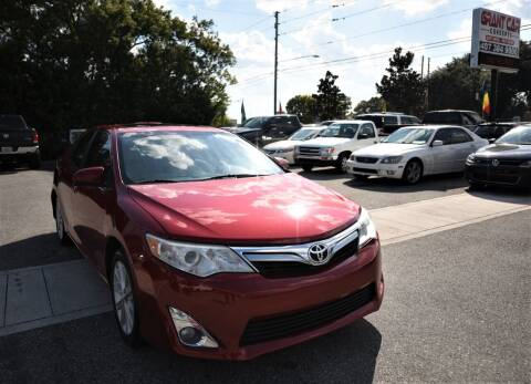2014 Toyota Camry for sale at Grant Car Concepts in Orlando FL