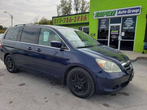 2005 Honda Odyssey for sale at Empire Auto Group in Indianapolis IN