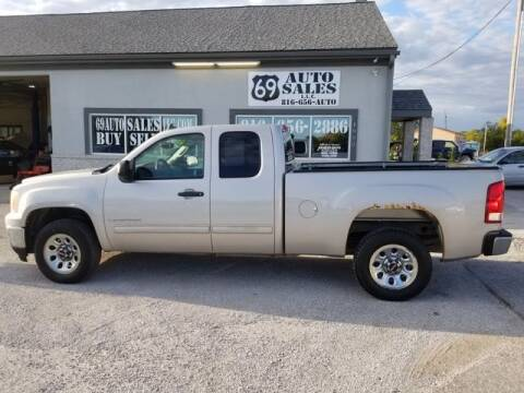 2009 GMC Sierra 1500 for sale at 69 Auto Sales LLC in Excelsior Springs MO