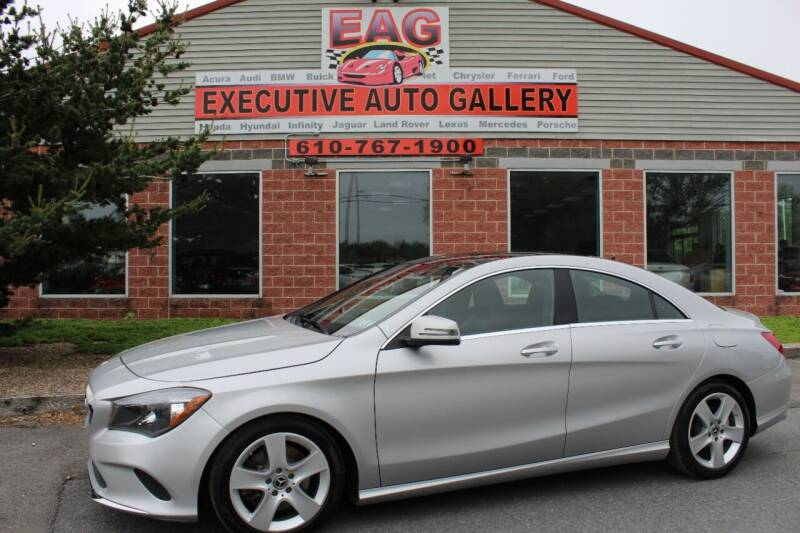 2018 Mercedes-Benz CLA for sale at EXECUTIVE AUTO GALLERY INC in Walnutport PA