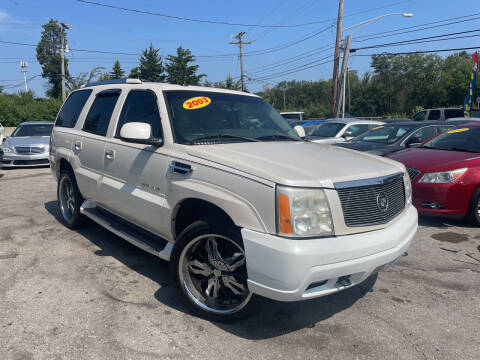 2003 Cadillac Escalade for sale at I57 Group Auto Sales in Country Club Hills IL