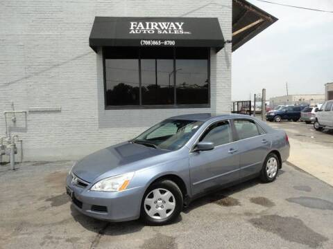 2007 Honda Accord for sale at FAIRWAY AUTO SALES, INC. in Melrose Park IL