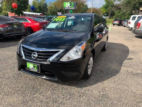 2015 Nissan Versa for sale at BK2 Auto Sales in Beloit WI