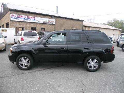 2007 Chevrolet TrailBlazer for sale at All Cars and Trucks in Buena NJ