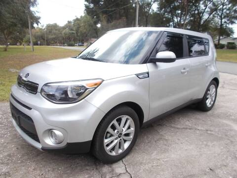 2019 Kia Soul for sale at LANCASTER'S AUTO SALES INC in Fruitland Park FL