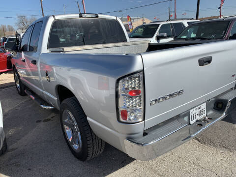2003 Dodge Ram Pickup 1500 for sale at BULLSEYE MOTORS INC in New Braunfels TX