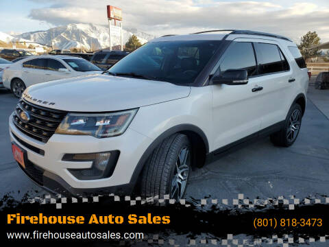 2016 Ford Explorer for sale at Firehouse Auto Sales in Springville UT