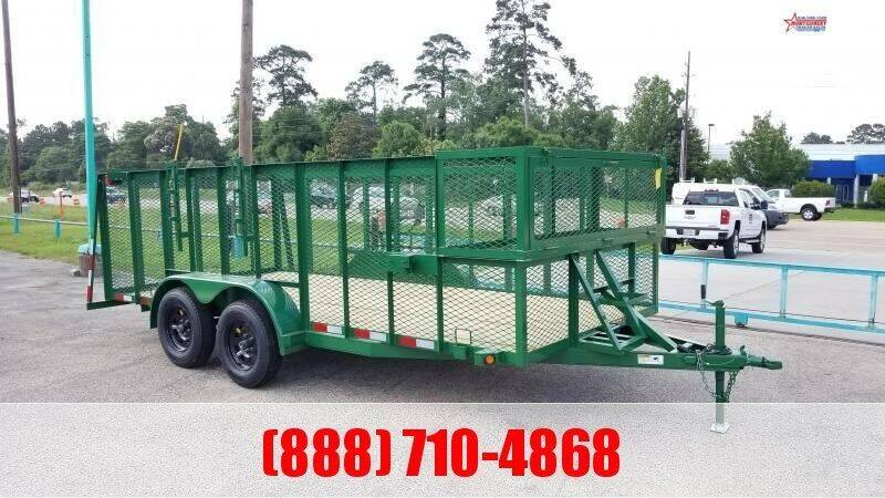 "2021 C-5 76"" X 16' Landscape Trailer for sale at Montgomery Trailer Sales in Conroe TX"