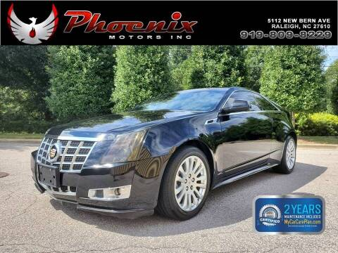 2013 Cadillac CTS for sale at Phoenix Motors Inc in Raleigh NC