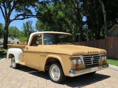 1962 Dodge D100 Pickup