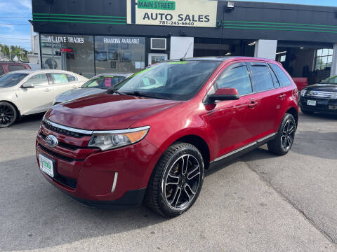 2014 Ford Edge for sale at Wakefield Auto Sales of Main Street Inc. in Wakefield MA
