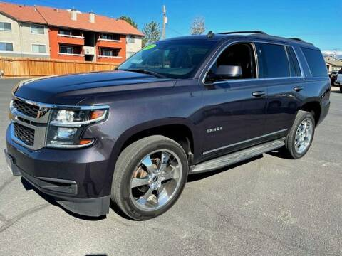 2015 Chevrolet Tahoe for sale at INVICTUS MOTOR COMPANY in West Valley City UT