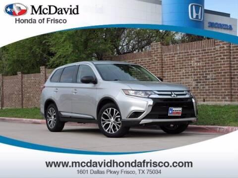 2018 Mitsubishi Outlander for sale at DAVID McDAVID HONDA OF IRVING in Irving TX
