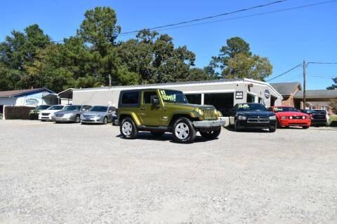 2007 Jeep Wrangler for sale at Barrett Auto Sales in North Augusta SC