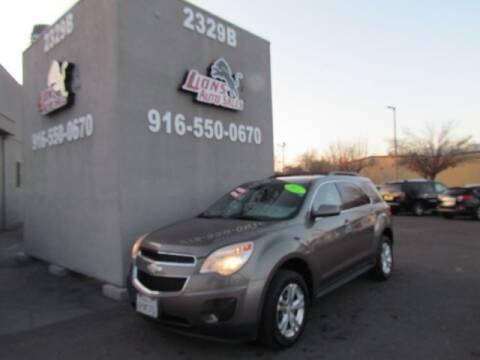 2011 Chevrolet Equinox for sale at LIONS AUTO SALES in Sacramento CA