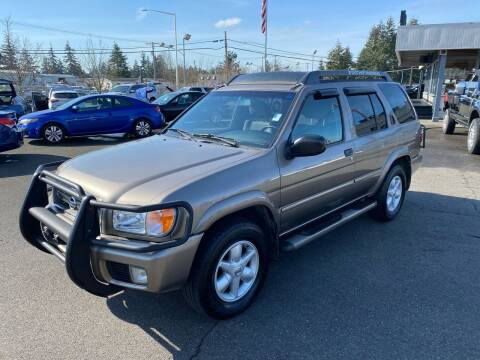 2002 Nissan Pathfinder for sale at Vista Auto Sales in Lakewood WA