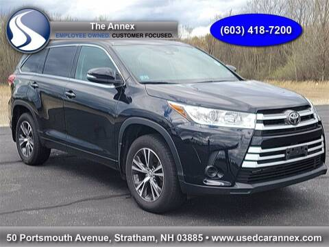2018 Toyota Highlander for sale at The Annex in Stratham NH