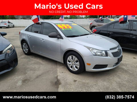 2013 Chevrolet Cruze for sale at Mario's Used Cars - South Houston Location in South Houston TX