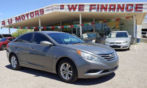 2013 Hyundai Sonata for sale at 4 U MOTORS in El Paso TX