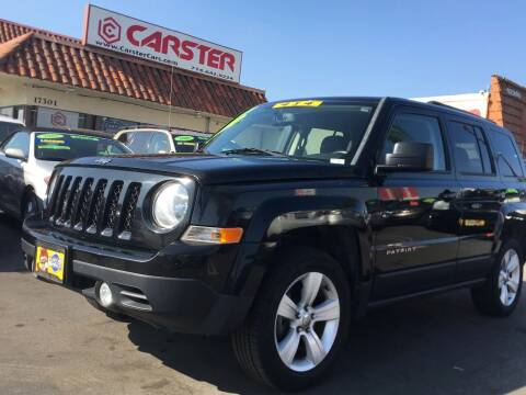 2014 Jeep Patriot for sale at CARSTER in Huntington Beach CA