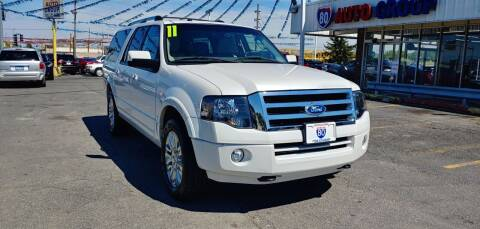 2011 Ford Expedition EL for sale at I-80 Auto Sales in Hazel Crest IL