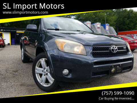 2006 Toyota RAV4 for sale at SL Import Motors in Newport News VA