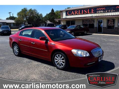 2011 Buick Lucerne for sale at Carlisle Motors in Lubbock TX