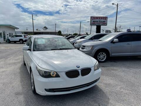 2009 BMW 5 Series for sale at Jamrock Auto Sales of Panama City in Panama City FL