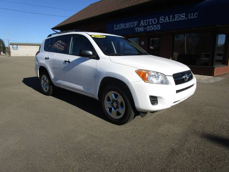 2010 Toyota RAV4 for sale at LeBoeuf Auto Sales in Waterford PA