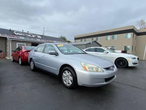 2004 Honda Accord for sale at WOLF'S ELITE AUTOS in Wilmington DE
