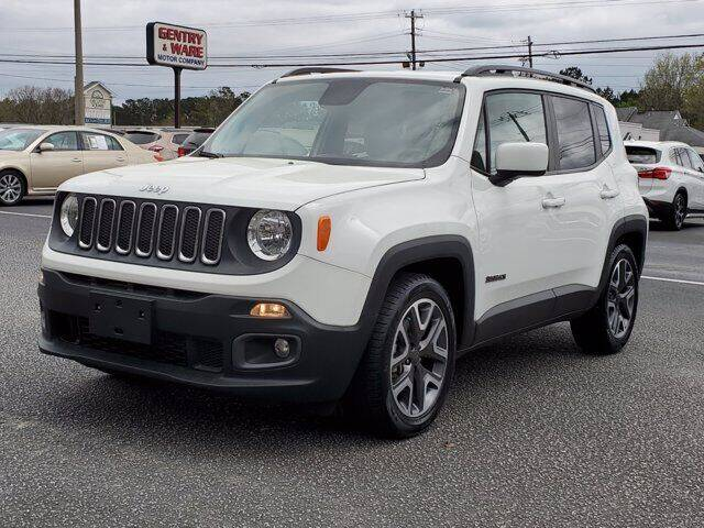 2017 Jeep Renegade for sale at Gentry & Ware Motor Co. in Opelika AL