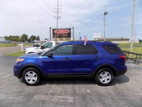 2014 Ford Explorer for sale at MYLENBUSCH AUTO SOURCE in O'Fallon MO