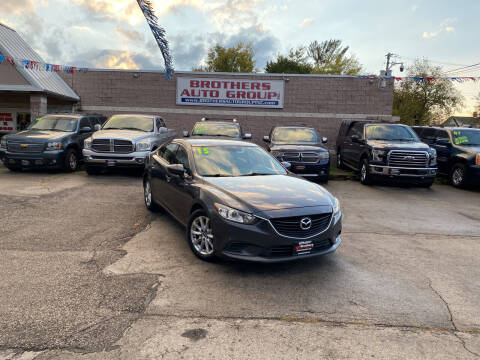 2015 Mazda MAZDA6 for sale at Brothers Auto Group in Youngstown OH
