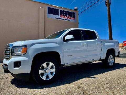 2018 GMC Canyon for sale at Don Reeves Auto Center in Farmington NM