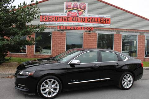 2017 Chevrolet Impala for sale at EXECUTIVE AUTO GALLERY INC in Walnutport PA
