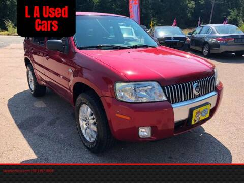 2007 Mercury Mariner for sale at L A Used Cars in Abington MA