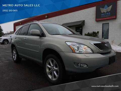 2008 Lexus RX 350 for sale at METRO AUTO SALES LLC in Blaine MN