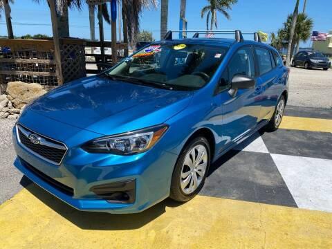 2018 Subaru Impreza for sale at D&S Auto Sales, Inc in Melbourne FL